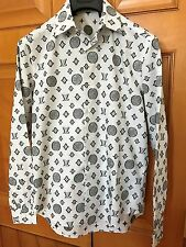 New Louis Vuitton Men Christopher Nemeth Rope Runway Shirt Size L
