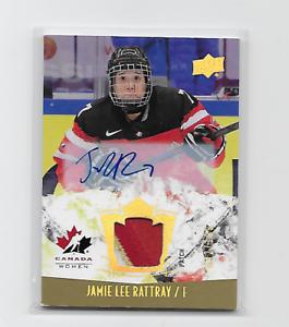 JAMIE-LEE-RATTRAY-2015-16-UD-TEAM-CANADA-JUNIORS-157-3-COLOR-PATCH-AUTO-199