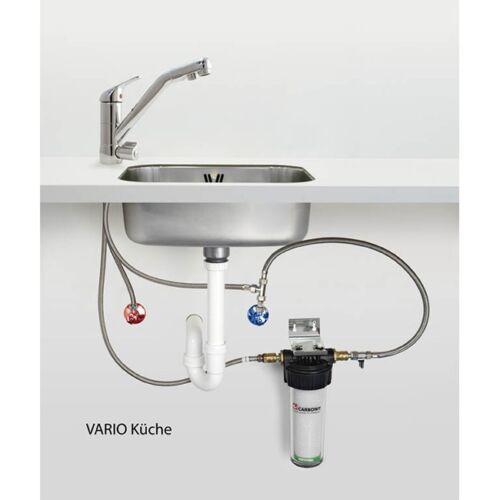 Carbonit Vario-HP Küche - Unterbaufilter - Trinkwasserfilter mit NFP Premium  lz3Qt