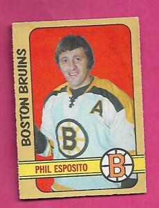 1972-73 OPC # 111 BRUINS PHIL ESPOSITO GOOD CARD (INV# D8020)