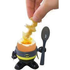 Batman oeuf cup et Toast Cutter Kid's breakfast Set Officiel DC superhero MERCH