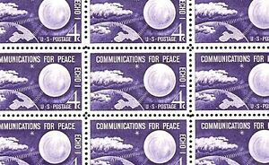 "1960- ECHO I - U.S. FIRST ""SPACE"" STAMP #1173 Full Mint Sheet of 50 Stamps"