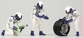 Pit Stop Williams Cambio Gomme Posteriore 1 43 Model MINICHAMPS MINICHAMPS MINICHAMPS 9d4a60