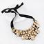 Fashion-Elegant-Women-Rhinestone-Crystal-Choker-Bib-Statement-Pendant-Necklace thumbnail 33