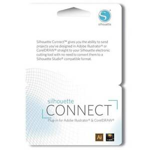 Silhouette Connect Plugin Card For Adobe Illustrator Or Coreldraw Ebay