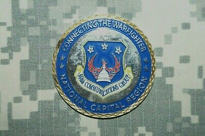 NEW U.S Air Force 3rd Combat Communications Group Airfield Mafia Challenge Coin