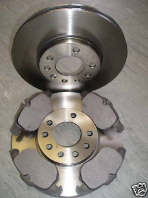 SAAB 9-3 FRONT BRAKE DISCS /& PADS 1.8,1.9,2.0,2.2 2003 ON/>/>NEW COATED DESIGN