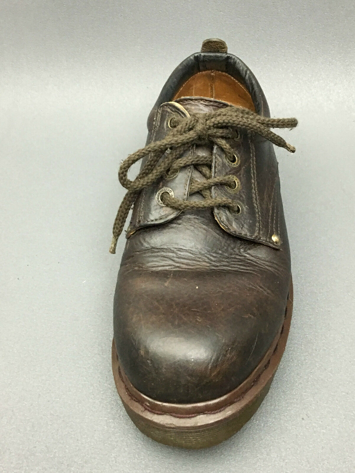 Dr. Martens Made in England Men's Leather Oxford  Brown shoes Size 9