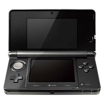Nintendo 3DS - Cosmo Black Handheld System