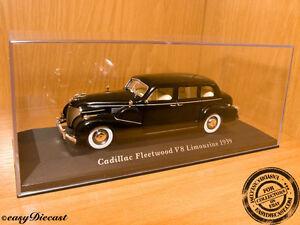 CADILLAC-FLEETWOOD-V8-V-8-LIMOUSINE-1939-1-43-MINT