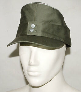WWII-GERMAN-WH-OFFICER-SUMMER-PANZER-M43-FIELD-COTTON-CAP-M-32172
