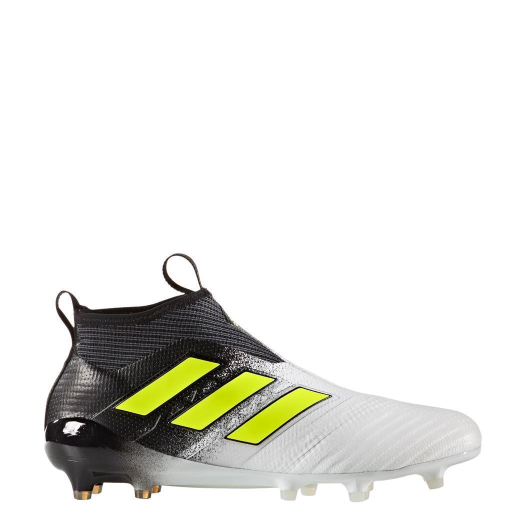 Adidas ACE 17+ PURECONTROL FG Fußballschuhe white   black Dust Storm [S77164]