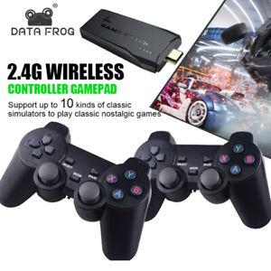 10000+ Retro Classic Game Stick Console & 2 Controllers M8 Mini HDMI