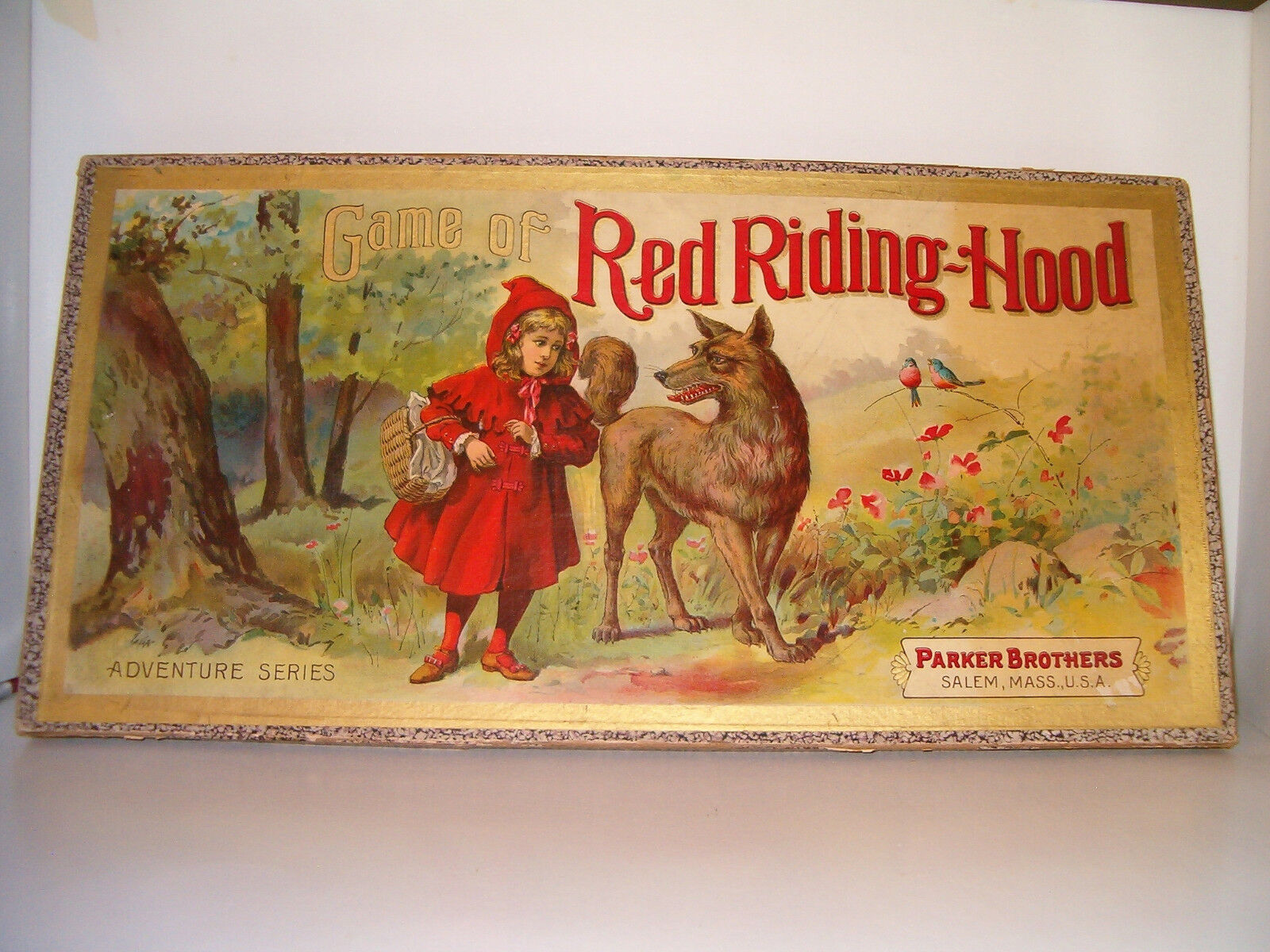 rouge Riding Hood circa 1900 Parker Brougehers 18+ ans