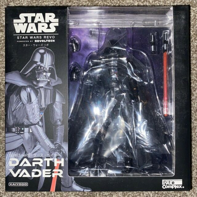 Star Wars - Revoltech Revo No.001 Darth Vader Episode V Action Figure Kaiyodo