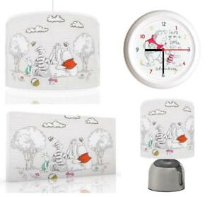 Winnie the pooh baby bundle light shade touch lamp clock canvas image is loading winnie the pooh baby bundle light shade touch aloadofball Gallery
