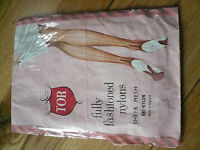 Vintage Fully Fashioned Stockings Tor Size 10