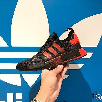 ADIDAS Originals NMD_R1 PK Pirate Black Solar Red Core EG7953 Men 9 Boost Shoes 191531466264   eBay