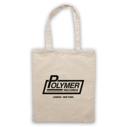 POLYMER RECORDS UNOFFICIAL SPINAL TAP ROCK BAND LABEL TOTE BAG LIFE SHOPPER