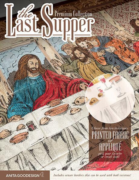 Anita Goodesign The Last Supper Embroidery Machine Design CD Premium    (AA0318)
