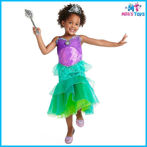 Disney The Little Mermaid/'s Ariel Costume for Kids sizes 4-6 brand new