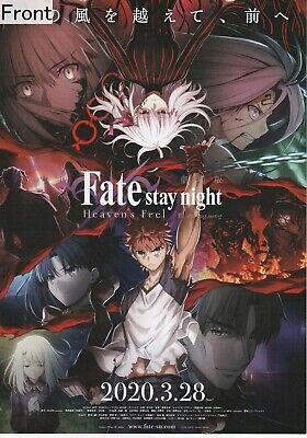 Fate//stay night I-Ⅲ Heaven/'s Feel 2017-2020 Anime Movie Mini Poster Set Of 9