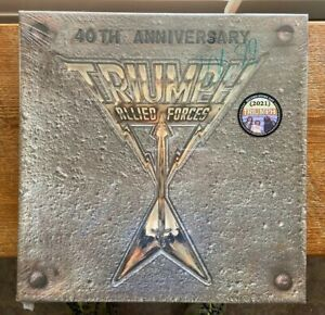 Allied Forces 40th Anniversary by Triumph (12 June 2021, Round Hill Records)