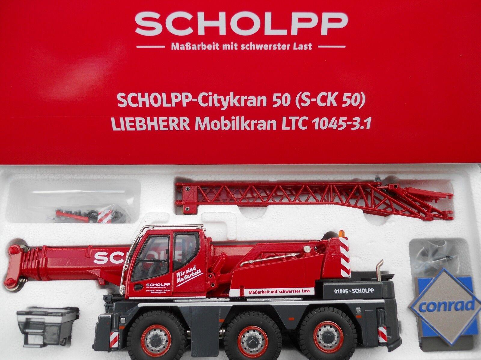LIEBHERR LTC 1045 -3.1   SCHOLPP   SPECIAL COMMERCE MINT IN BOX