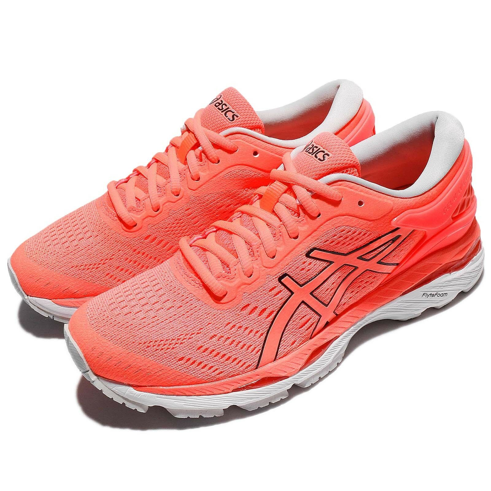 Asics Gel-Kayano 24 Flash Coral White Women Running  shoes Sneakers T799N-0690  affordable