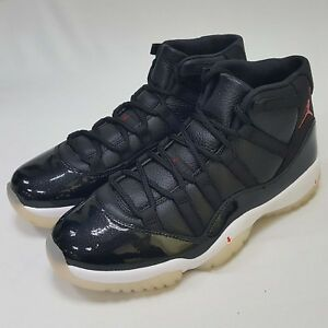 b0436f1641305 Nike Air Jordan 11 Retro 72-10 Outsole With Discoloration Men AJ11 ...