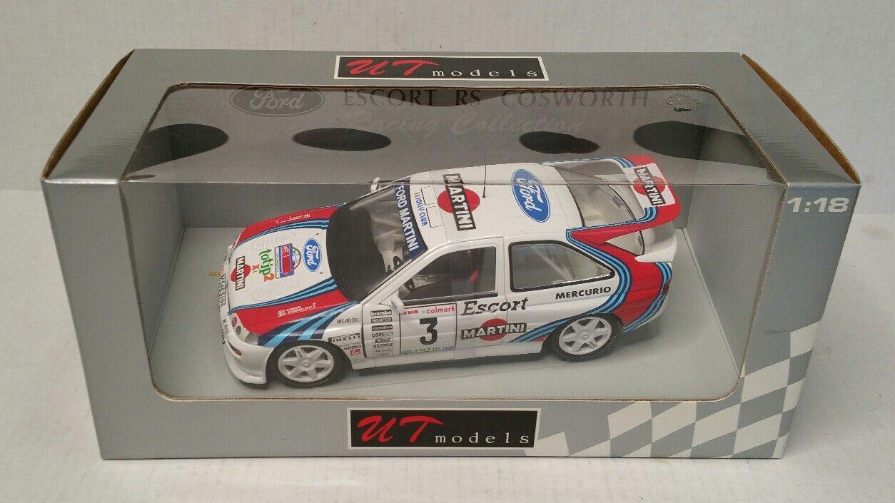 Rare UT Models 1:18 Ford Escort RS Cosworth Martini  3 Cunico Evangelisti