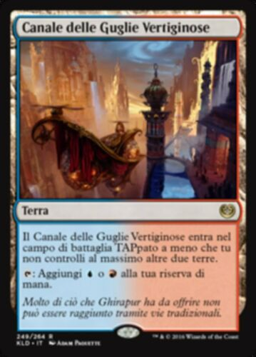 KLD MTG SPIREBLUFF CANAL FOIL ITALIAN EXC CANALE DELLE GUGLIE VERTIGINOSE