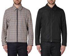 AQUASCUTUM Vicuna House Check & Black REVERSIBLE Jacket Coat MED (UK38-40) BNWT