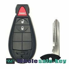 Uncut Replacement Fobik Key Keyless Remote Fob 3 Buttons For Dodge Ram  IYZ-C01C