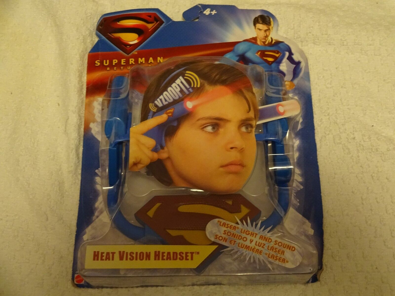 Superman Returns Heat Vision Headset New Free Shipping