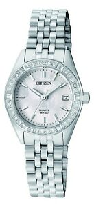 Citizen EU6060-55D elegant Ladies Crystal Watch WR50m NEW in BOX RRP $299.00