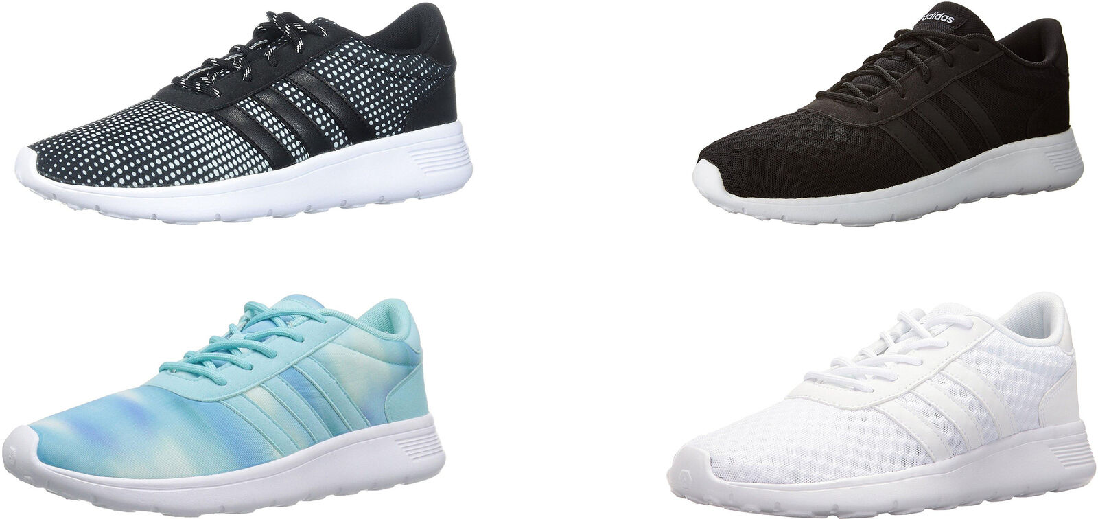 Adidas Women's Lite Racer Running shoes, 4 colors