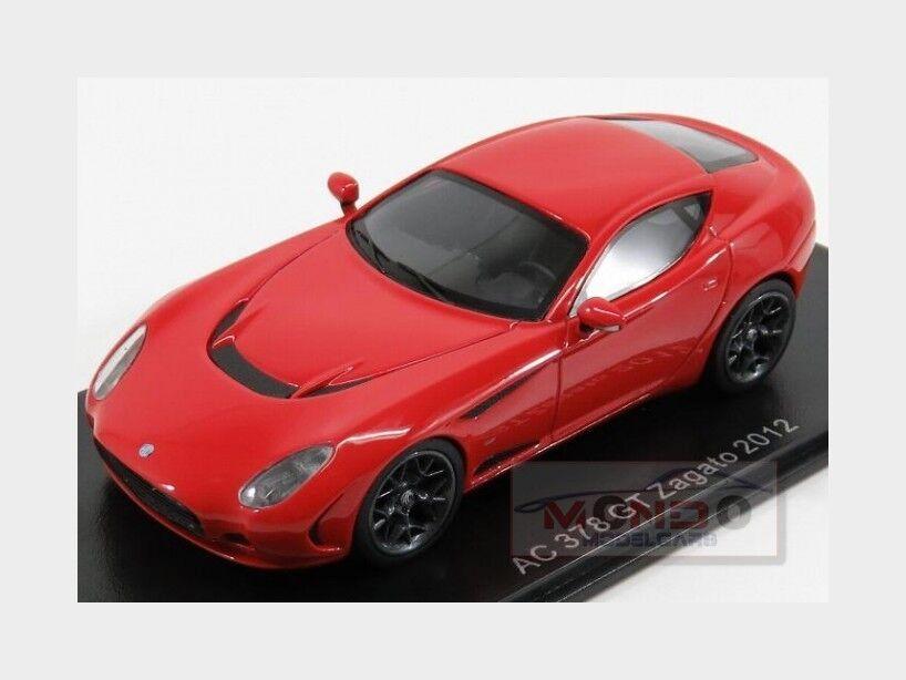 Ac 378 Gt Zagato Coupe 2012 Red Neoscale 1 43 NEO47005 Model