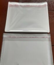 250 4 X 6 Clear Resealable Self Adhesive Cello Lip And Tape Bags Free Ship