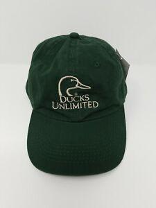 Ducks Unlimited Embroidered Logo Adjustable Hat Cap Hunting Ebay