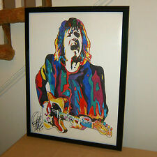 Gary Moore, Singer, Guitarist, Blues Guitar, Jazz Fusion, 18X24 POSTER w/COA 1