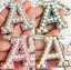 miniature 1 - Pearl Letter Patches Rhinestone Sparkle Alphabet Embroidery Sew on Iron on A-Z
