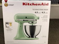 KitchenAid Deluxe 4.5 Quart Tilt-head Stand Mixer Pistachio KSM88PT