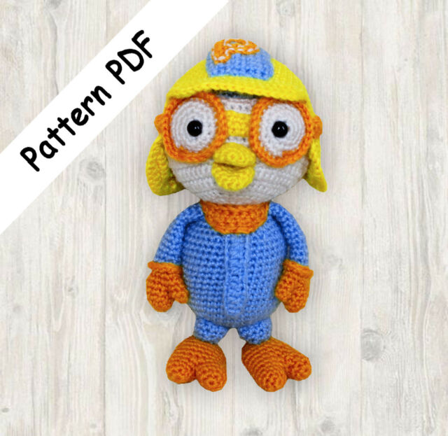 Pororo Penguin Crochet Pattern Pdf Read Description For Sale