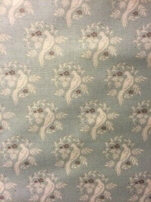 Dashwood Studio Cuckoos Calling Fabric Birds Duck Egg Green Quilting dressmaking