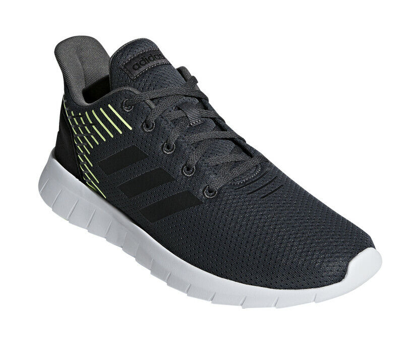 Adidas Men Running schuhe Asweerun Trainers grau Training Workout Gym F36994 New