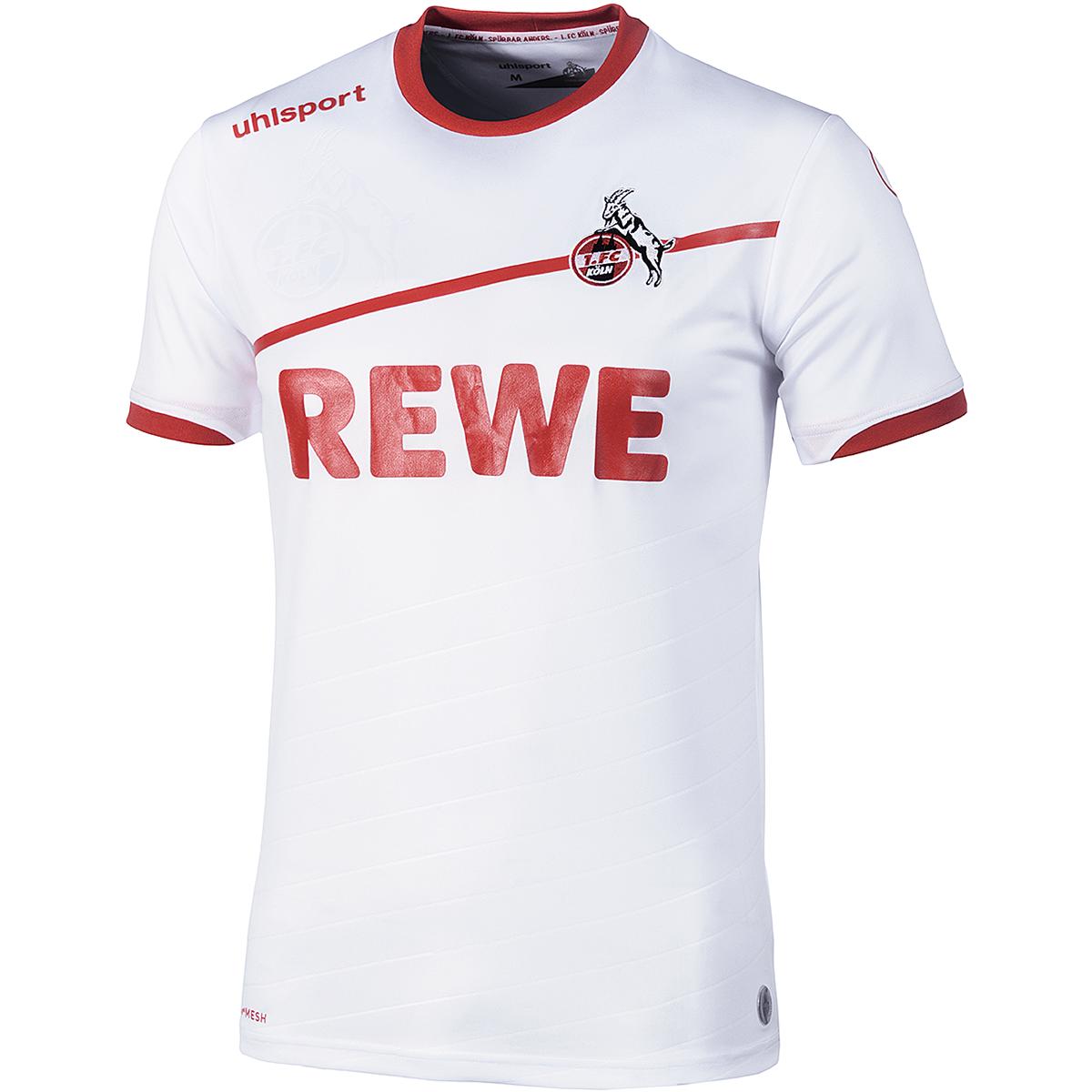 Uhlsport 1.FC Cologne Home Jersey Shirt 20182019 Men's bianca