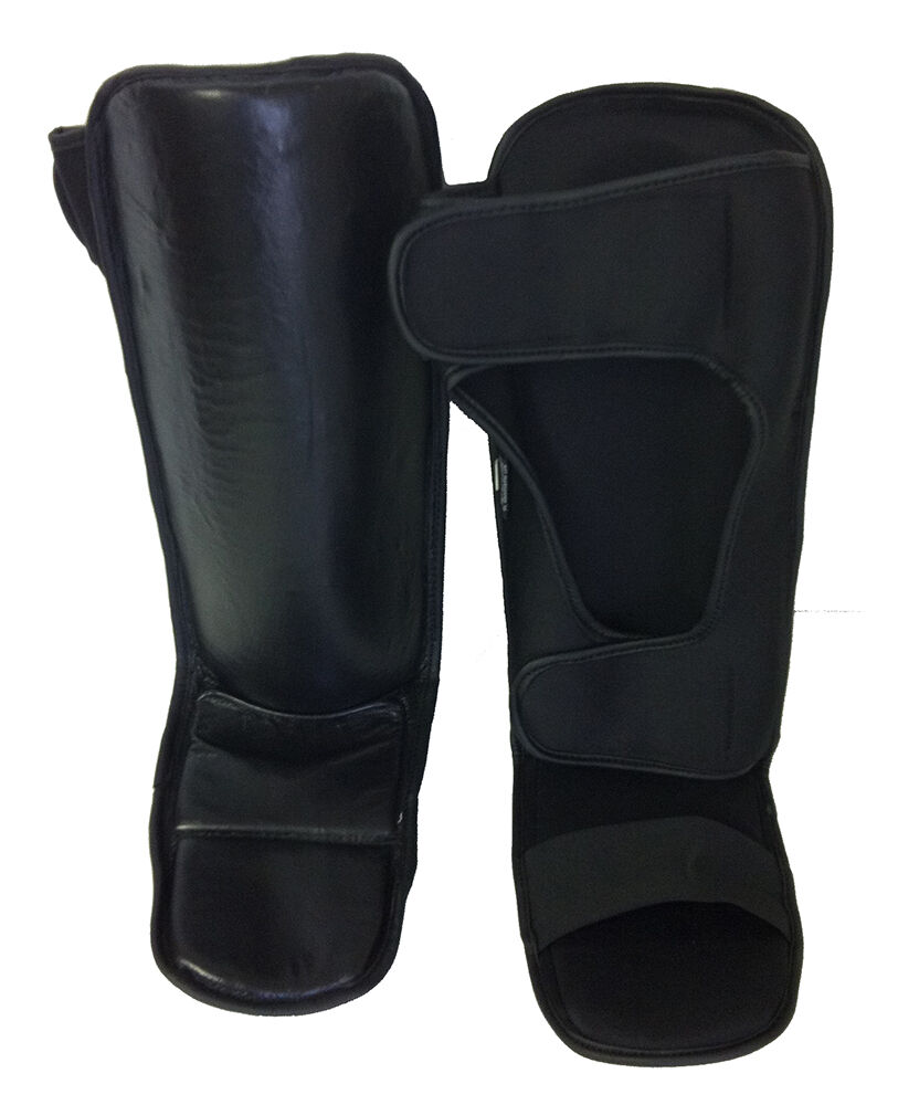 Boxing   MMA Shin Instep Guards (New) Free Shipping