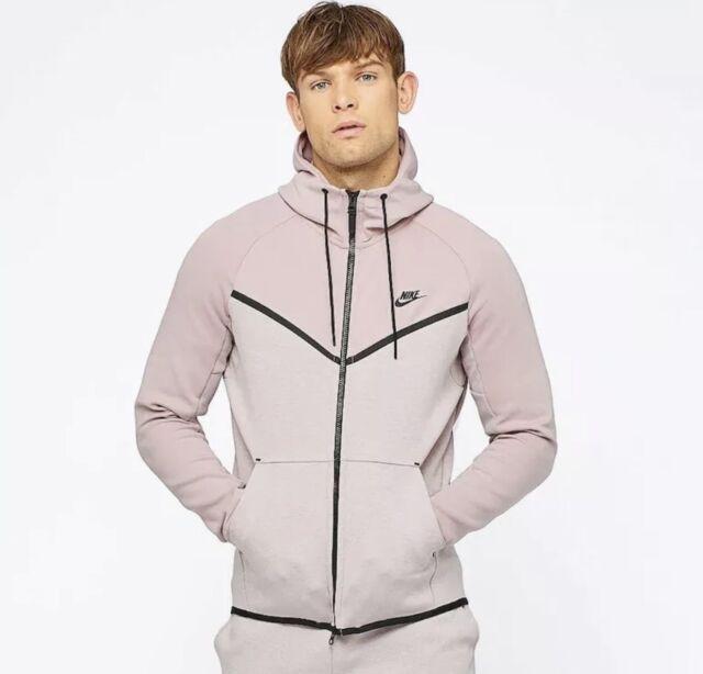 badc90bbf5 Nike Tech Fleece Windrunner - XXL - 885904-684 Black Hoodie Hoody Particle  Rose