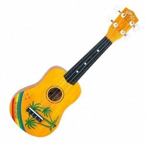 Hilo Hawaiian Palm Tree Motif Soprano Ukulele Uke 2649 For Sale Online Ebay